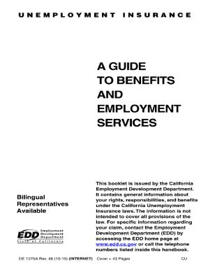 a guide to benefits and employment services de 1275a