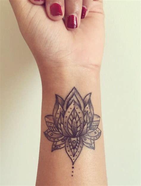 lotus wrist lotus flower wrist designs ideas and meaning