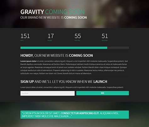 coming soon website template free 21 free coming soon construction html web templates