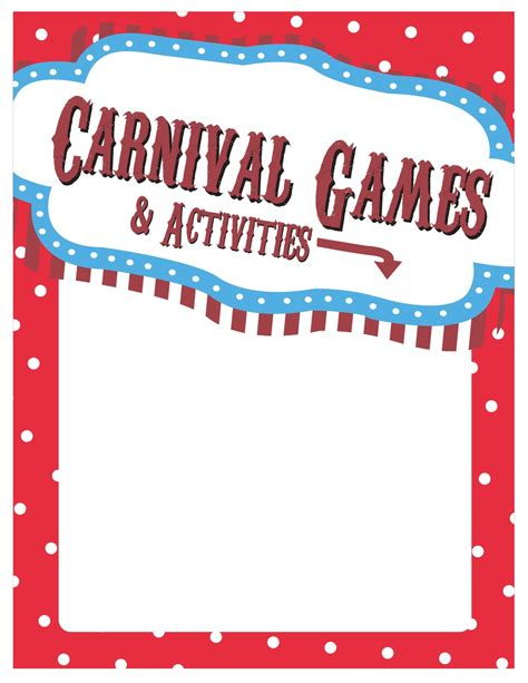 printable banner signs elementary school spring carnival sign ideas printables