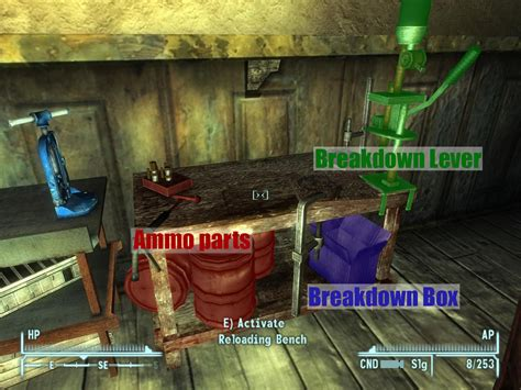 new vegas reloading bench automated reloading bench at fallout new vegas mods and