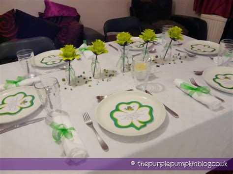 dinner table decorations table decoration st s day dinner 187 the
