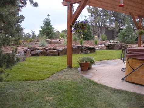 Gardenhart Landscaping Durango Landcsape Design Portfolio How To Design Backyard Landscaping