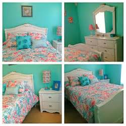 Turquoise and coral girl s bedroom allies bedroom ideas