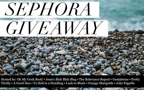 Sephora Giveaway - butcher s niche a sephora giveaway butcher s niche