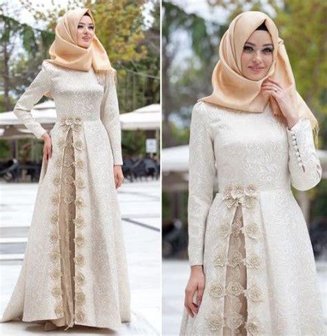 Maxi Dress Baju Pesta Jodha Busana Muslim Gamis Kebaya India model baju gamis lebaran elegan jpg 490 215 504 gamis
