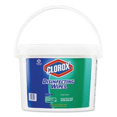 clorox disinfecting wipes    fresh scent bucket  p supply