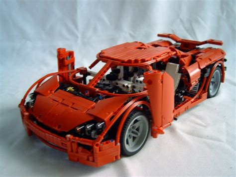 Build Your Own Koenigsegg Koenigsegg Supercar With A Lego 174 Creation By