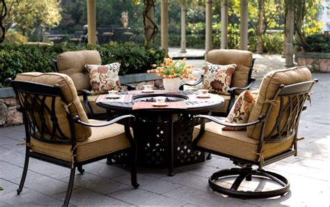 patio furniture seating groups patio furniture seating chat cast aluminum