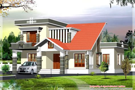 modern kerala house plans with photos 1015
