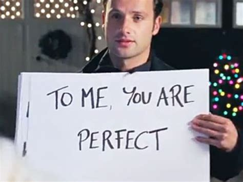 andrew lincoln character we all think andrew lincoln s character in quot love actually