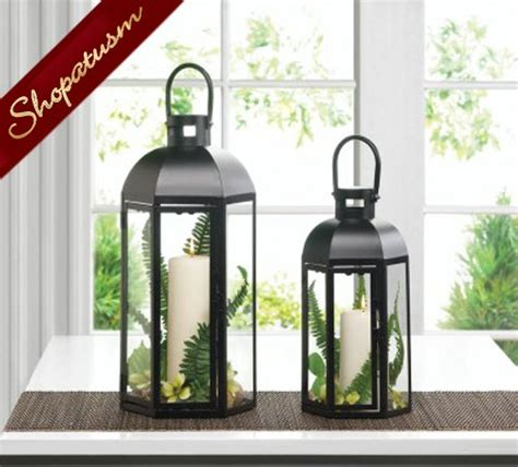 24 lanterns medium black dome wedding centerpieces wholesale