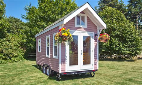 tiny france tiny pink house tiny house france