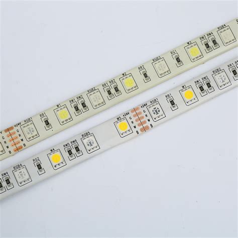 Lu Smd Led Strips dc24v rgbw led light 5050 smd 12mm pcb 5m 60 leds m led lighting supplies