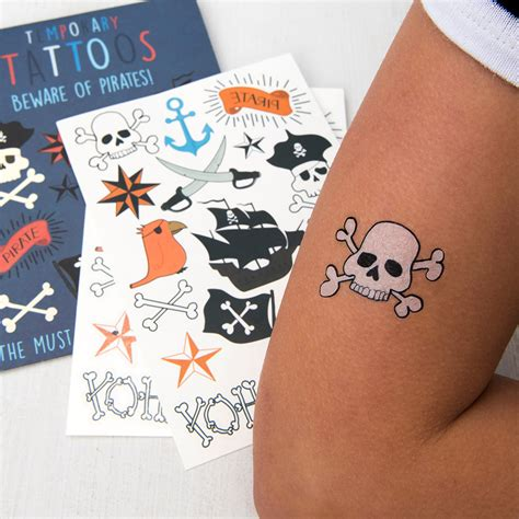 tattoo temporary london beware of pirates temporary tattoos rex london at