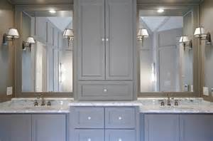 Gray Bathroom Cabinets Home Decor Trend Gray In The Kitchen And Bathroom The Well Appointed House Living The