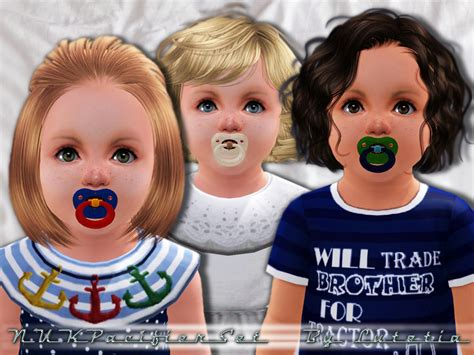 sims 3 toddler accessories lutetia s nuk pacifier1 toddler