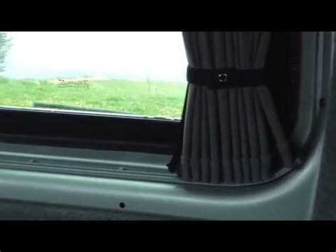 van window curtains van x curtains vw t5 youtube