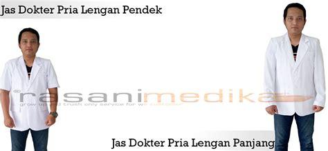 Jas Dokter Pria Lengan Panjang Snelli distributor jas dokter rasani medika