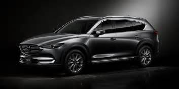 mazda cx 8 revealed a new 3 row suv for japan