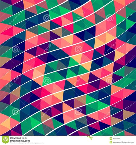 triangle pattern in stock abstract pixel triangle pattern stock vector image 43944463