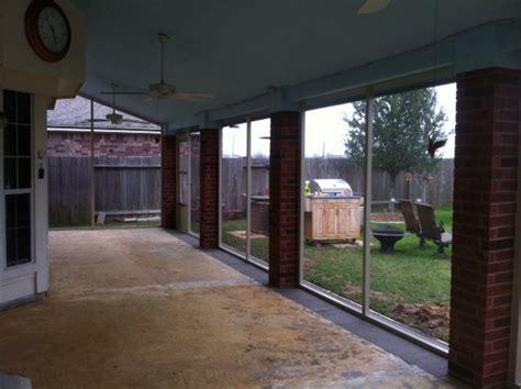 Kingwood Screened Porch   Lone Star Patio Builders