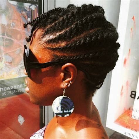 pictures and techniques for natral hair twisting for black woman flat twist styles for short natural hair hair crush