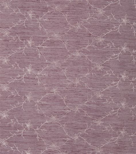 purple home decor fabric home decor print fabric eaton square cravens purple flora