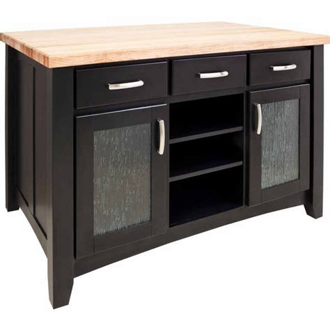 jeffrey contemporary kitchen island with