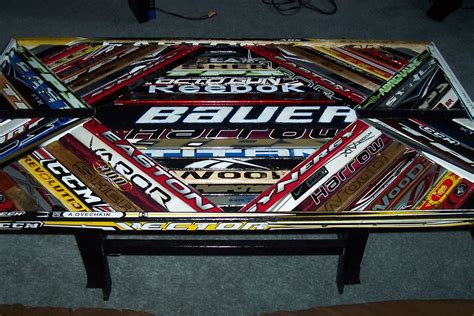 hockey stick coffee table hockey stick coffee table 3 by mike soramaki