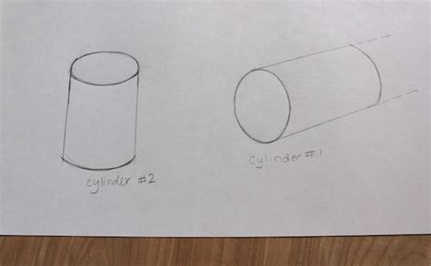 How To Make Cylinder Shape With Paper - drawing 3 d shapes 5 tutorials