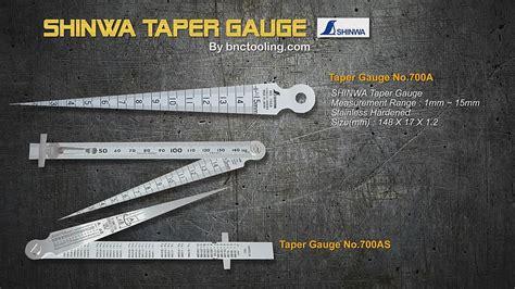 Taper No 700a 1 16mm Shinwa Taper No 700a 700s Range1 15 Mm