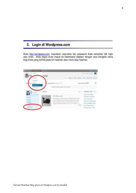membuat blog di wordpress gratis membuat blog gratis di wordpress