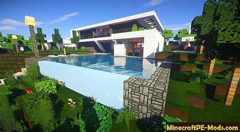 moderne minecraft häuser zum nachbauen flows hd for modern buildings mcpe texture pack 1 4 4 1 4