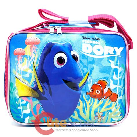 finding dory school lunch bag insulated snack nemo bag