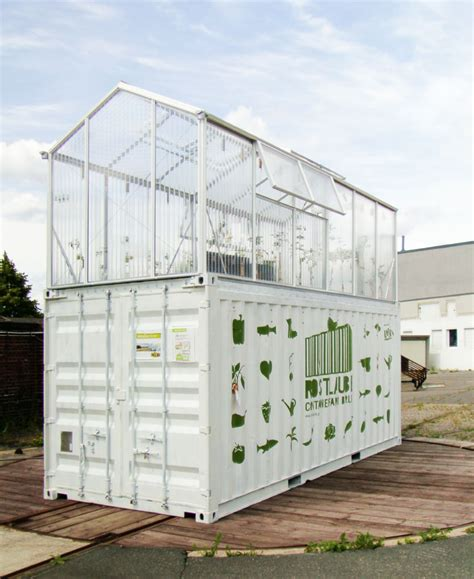 Houston Garden And Patio Shipping Container Greenhouse Urban Farm Unit By Damien