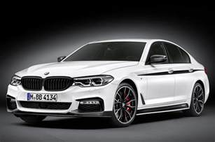m performance upgrades revealed for 2017 bmw 5 series