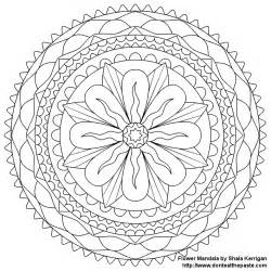 mandalas to color free mandala coloring pages coloring home