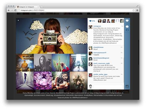 Instagram 100 View mobile web second instagram finally lets users functional web profiles techcrunch