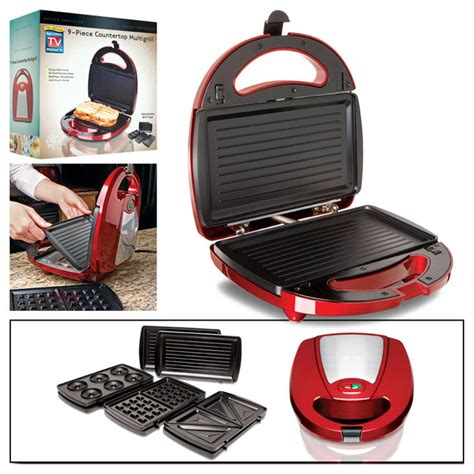 Multi Grill countertop multi grill with removable trays 207391 kitchen appliances at sportsman s guide
