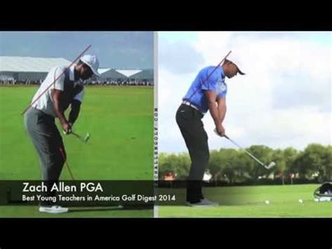 tigers new swing tiger woods driver swing 2013 vs 2015 funnycat tv