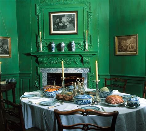 Small Dining Room Green 122 Best Historic Interiors Images On