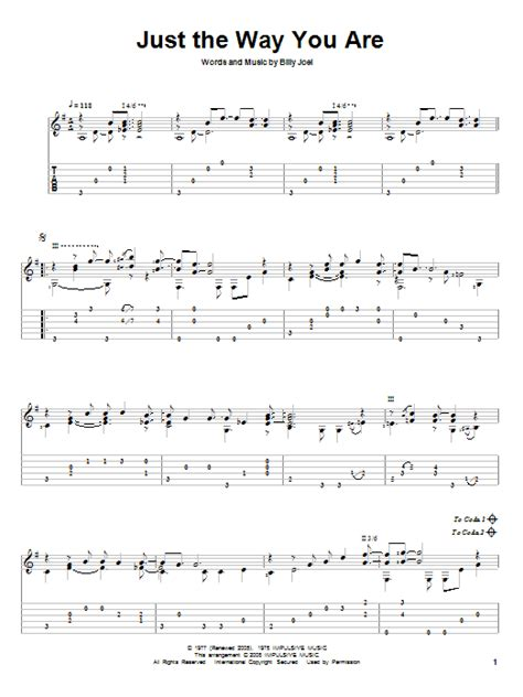 tutorial piano just the way you are just the way you are guitar tab by billy joel guitar tab