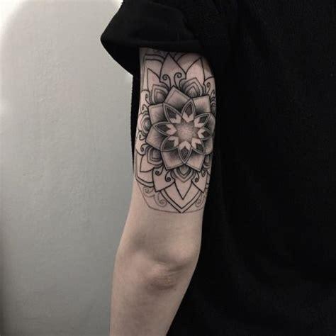 tricep tattoo pinterest lotus mandala tattoo tricep by matt matik tatuajes