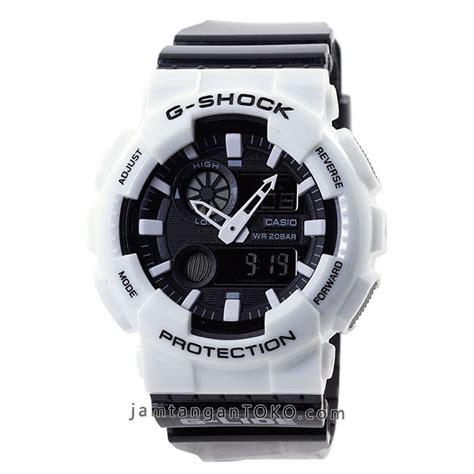 Jam G Shock Black White harga sarap jam tangan g shock g lide gax 100b 7a white