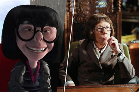 linda hunt the incredibles edna mode celebrity os cartoons e as estrelas que os inspiraram magazine hd