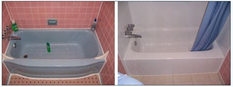 Bathtub Reglazing And Refinishing Services Before After Tub From Brite Bathtubs Refinishing