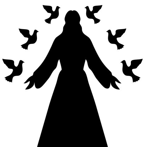 free silhouette images jesus christ silhouette free stock photo public domain