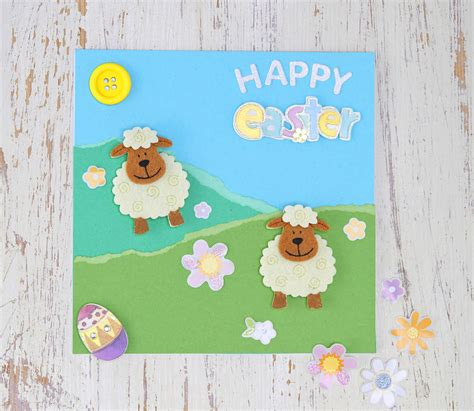 make a easter card 5 easy easter cards to make hobbycraft