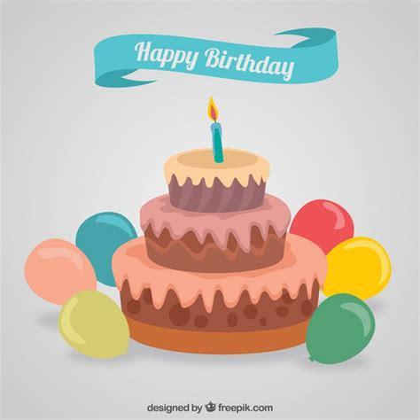 12 happy birthday cake vector images happy birthday cake happy birthday cake vector free download